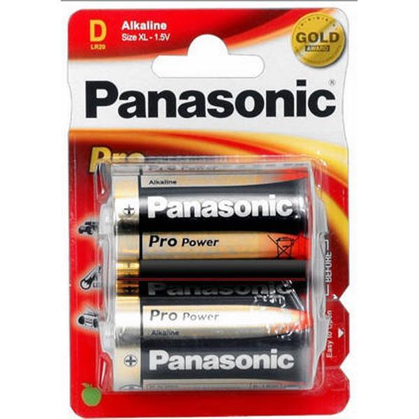 Panasonic Pro Power D Compatible 2-pack