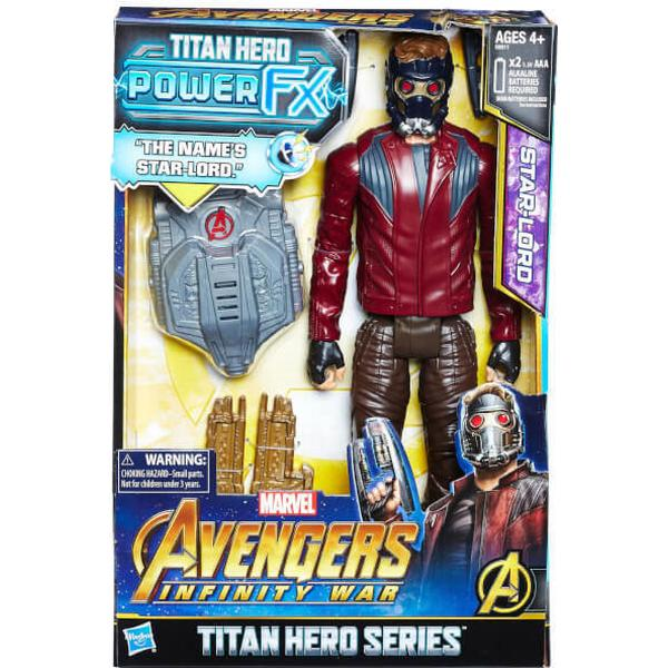 Hasbro Marvel Avengers Infinity War Titan Hero Power FX Star Lord E0611
