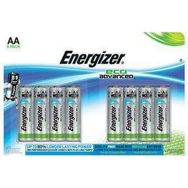Energizer Eco Advanced AA Compatible 8-pack