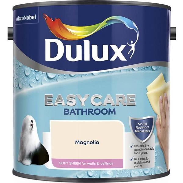 Dulux Easycare Bathroom Soft Sheen Wall Paint, Ceiling Paint Beige 2.5L