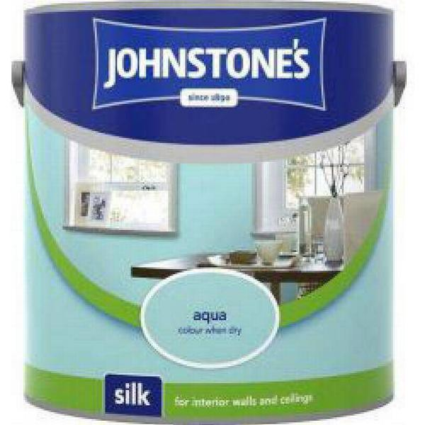 Johnstones Silk Wall Paint, Ceiling Paint Blue 2.5L