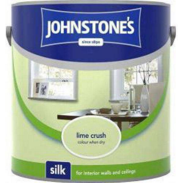 Johnstones Silk Wall Paint, Ceiling Paint Green 2.5L