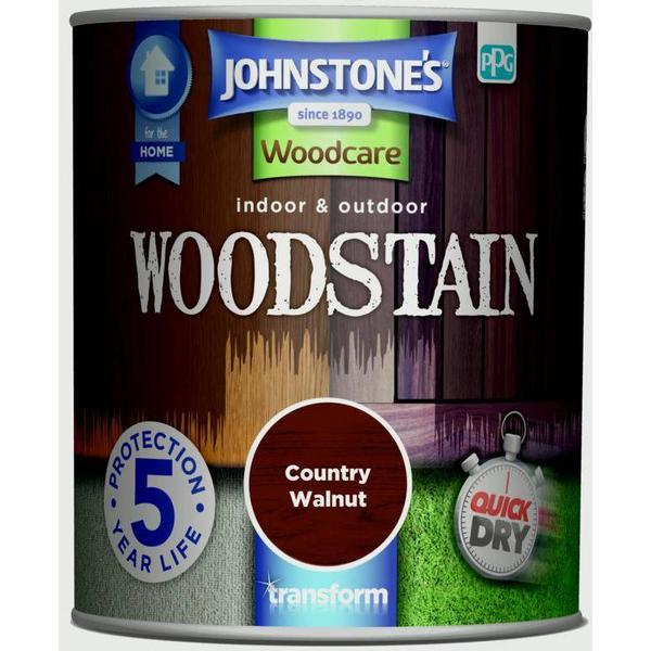Johnstones Woodcare Woodstain Brown 0.75L