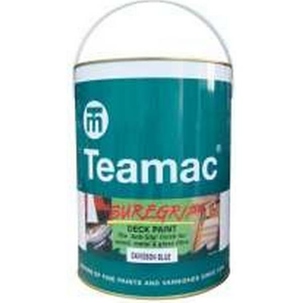 Teamac Suregrip Anti-Slip Wood Paint Yellow 5L