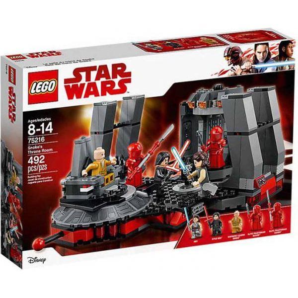 Lego Star Wars Snoke's Throne Room 75216