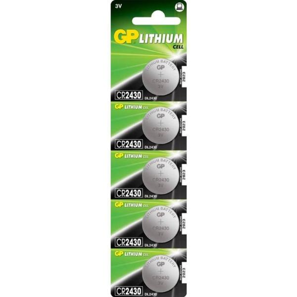 GP Batteries CR2430 5-pack