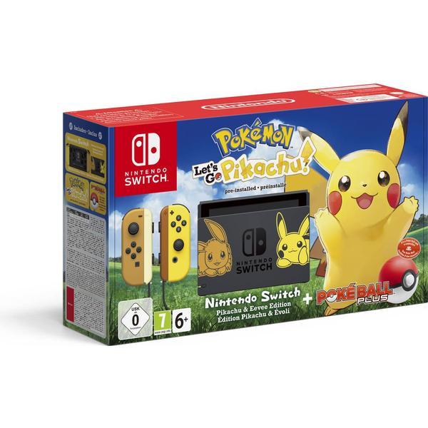 Nintendo Switch - Yellow - Pokémon: Let's Go, Pikachu