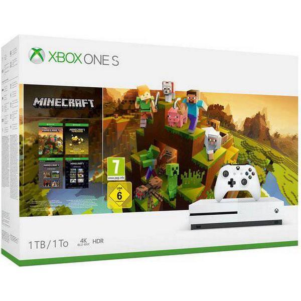 Microsoft Xbox One S 1TB - Minecraft - Creators Bundle