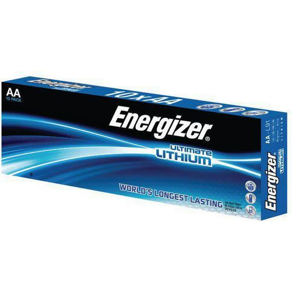 Energizer AA Ultimate Lithium Compatible 10-pack