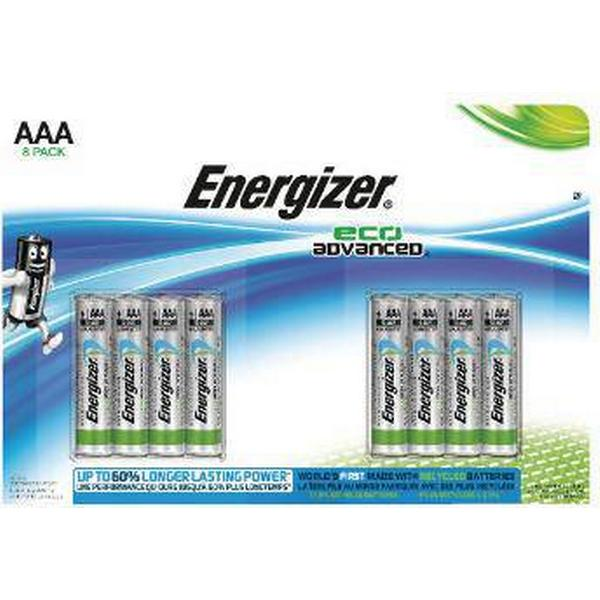 Energizer Eco Advanced AAA Compatible 8-pack