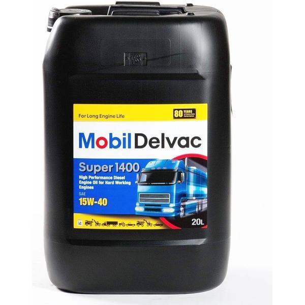 Mobil Delvac Super 1400 15W-40 20L Motor Oil