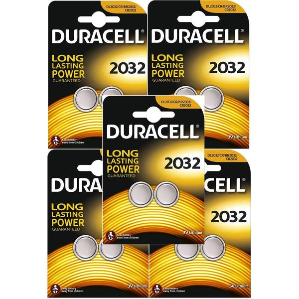 Duracell CR2032 Compatible 10-pack