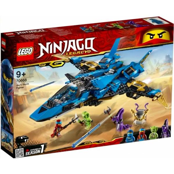 e5e5af4fa6d9e Lego Ninjago Jay's Storm Fighter 70668 - Compare Prices - PriceRunner UK
