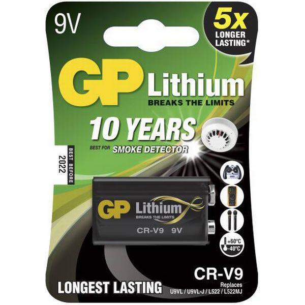 GP Batteries CR-V9 Compatible