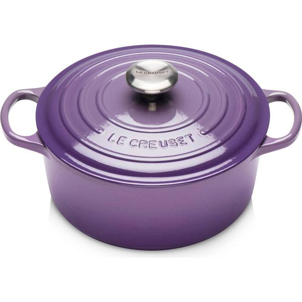 Le Creuset Ultra Violet Signature Cast Iron Round Other Pots with lid 28cm