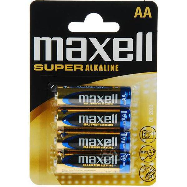 Maxell AA Super Alkaline Compatible 4-pack
