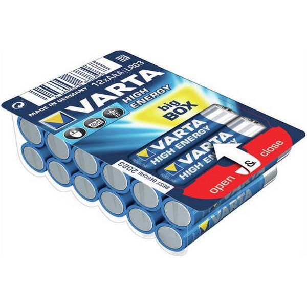 Varta AAA High Energy 12-pack