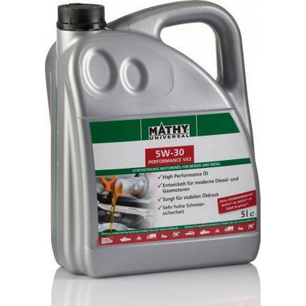 Mathy 5W-30 Performance VX3 5L Motor Oil