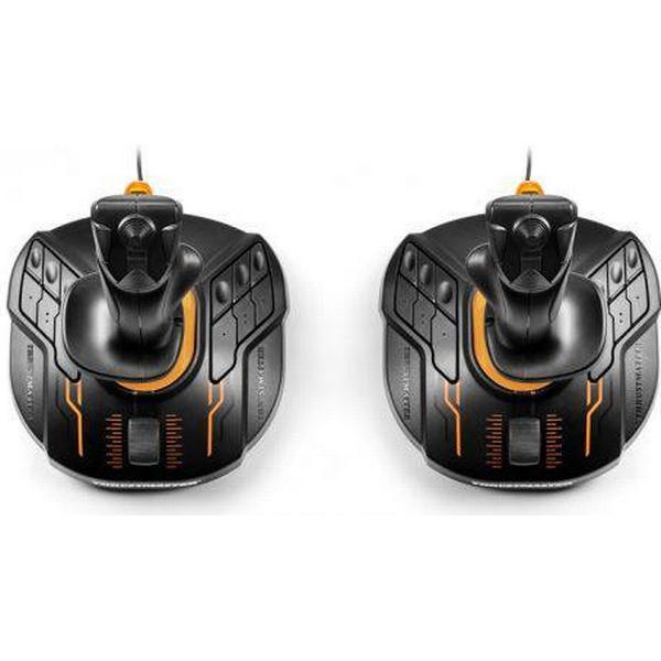 Thrustmaster T.16000M FCS Space Sim Duo Joystick (PC) - Black/Orange