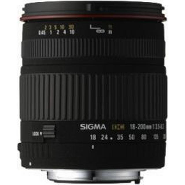 Sigma 18-200mm F3.5-6.3 DC OS for Canon