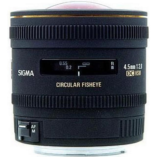 Sigma 4.5mm F2.8 EX DC Circular Fisheye HSM for Nikon/Fujifilm