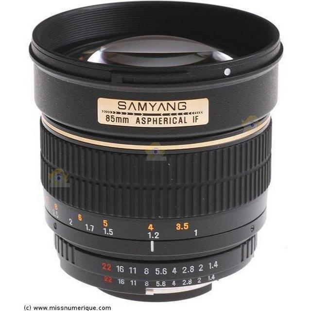 Samyang 85mm f/1.4 Aspherical IF for Pentax