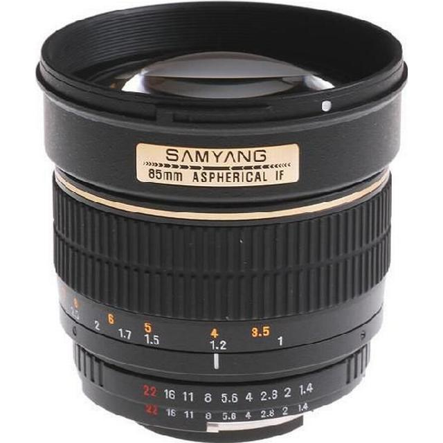 Samyang 85mm f/1.4 Aspherical IF for Nikon F