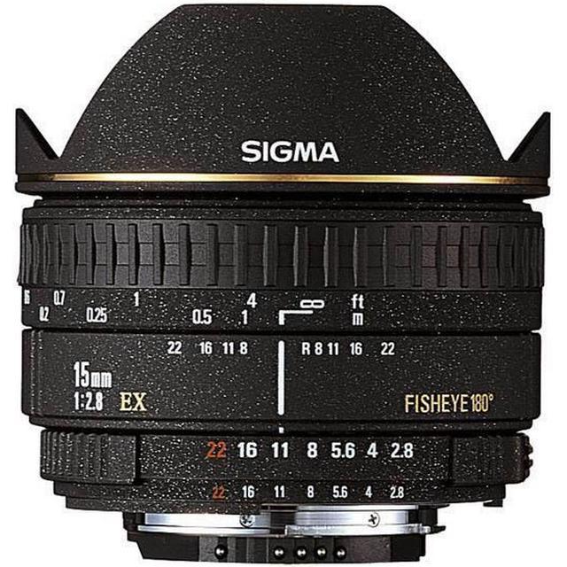 Sigma 15mm F2.8 EX DG DIAGONAL Fisheye for Pentax