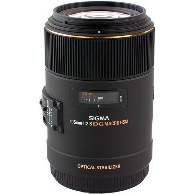 Sigma MACRO 105mm F2.8 EX DG OS HSM for Nikon