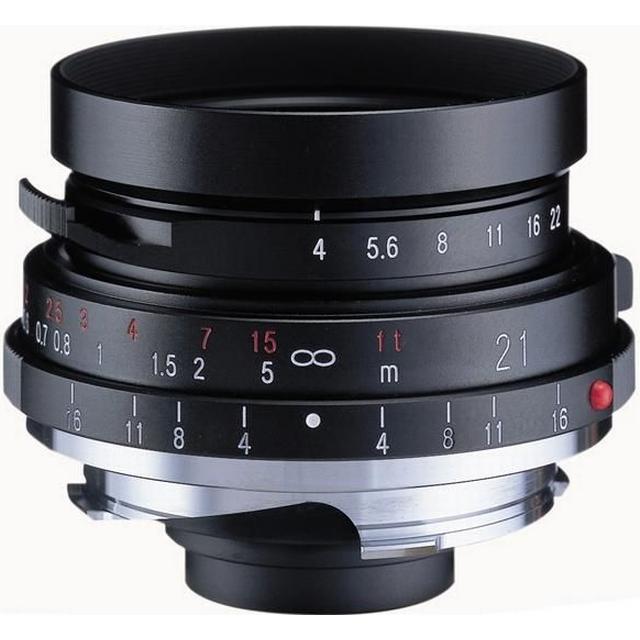 Voigtländer 21mm F4 Color Skopar Pancake II for Leica M