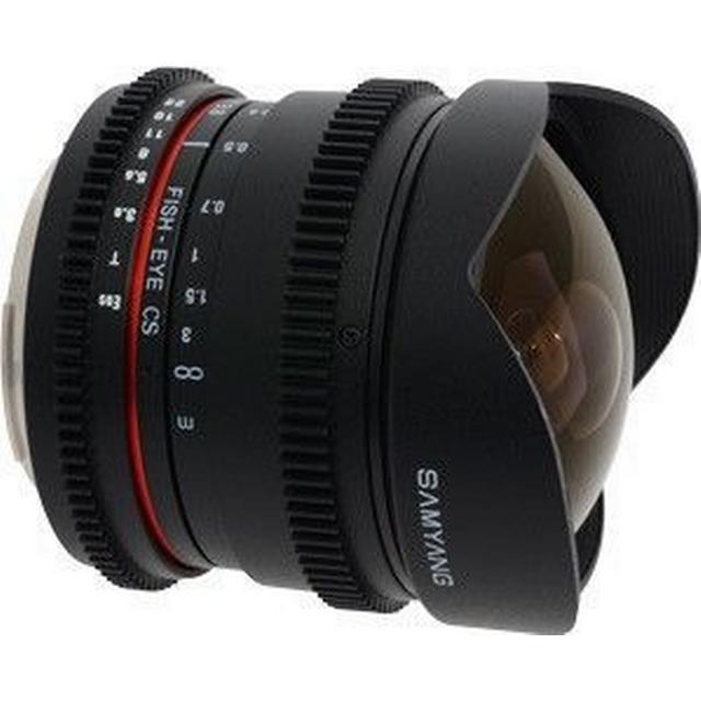 Samyang 8mm T3.8 Asph IF MC Fisheye CS VDSLR for Canon EF
