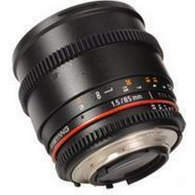 Samyang 85mm T1.5 AS IF UMC VDSLR for Canon EF