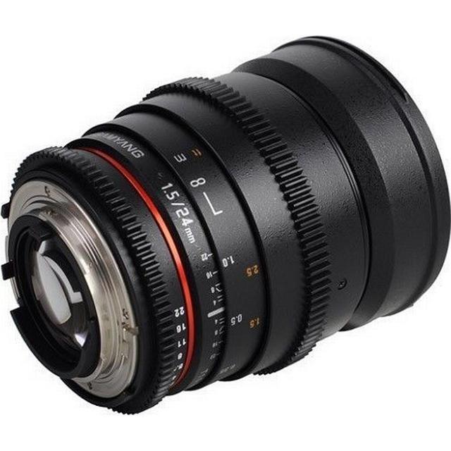 Samyang 24mm T1.5 ED AS UMC VDSLR for Canon EF