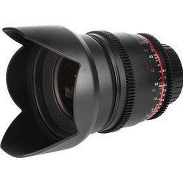 Samyang 16mm T2.2 ED AS UMC CS VDSLR for Canon EF