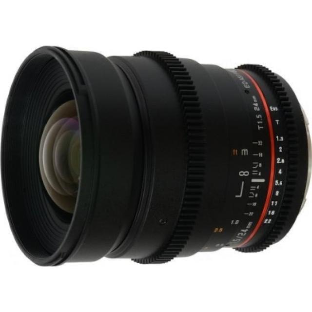 Samyang 24mm T1.5 ED AS UMC VDSLR for Sony E