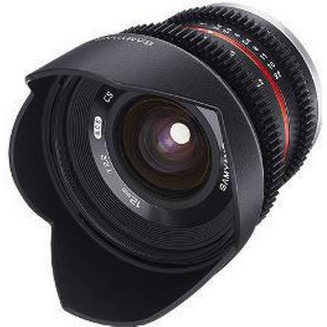 Samyang 12mm T2.2 VDSLR NCS CS for Micro Four Thirds