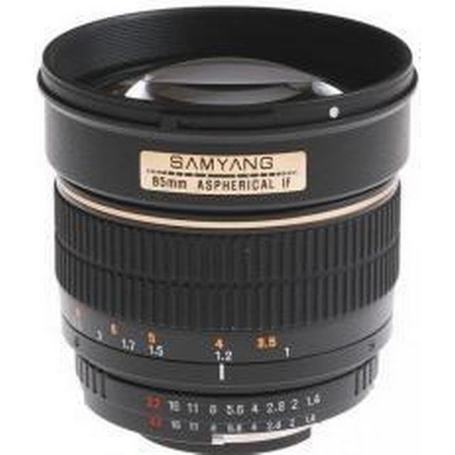 Samyang 85mm f/1.4 IF MC Aspherical for Sony A