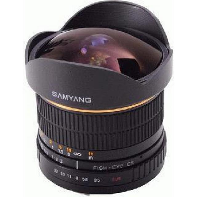 Samyang 8mm F3.5 UMC Fisheye CS II for Nikon F