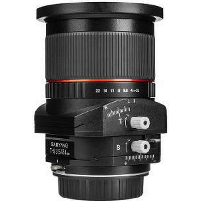 Samyang T-S 24mm f/3.5 ED AS UMC for Sony E