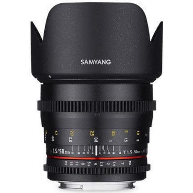 Samyang 50mm T1.5 AS UMC VDSLR for Canon M