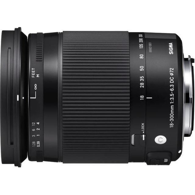 Sigma 18-300mm F3.5-6.3 DC Macro OS HSM C for Nikon