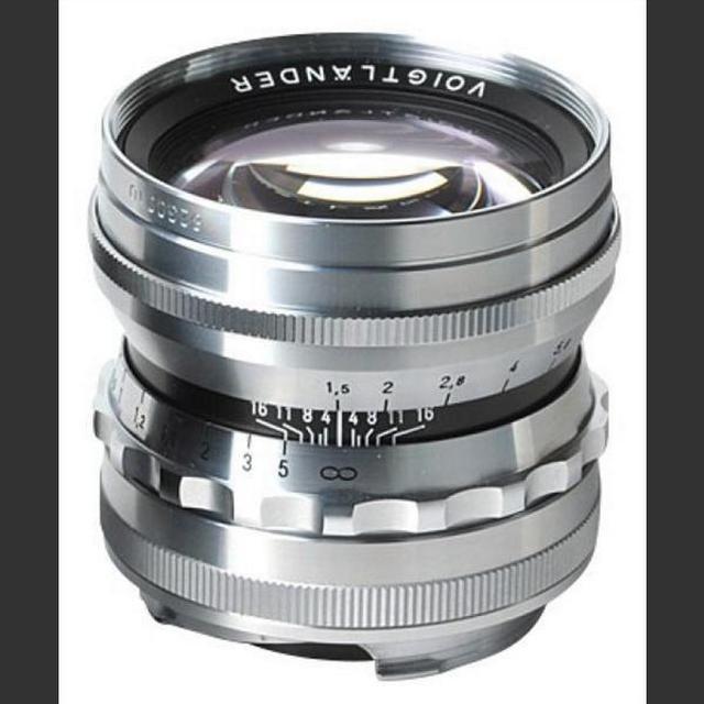 Voigtländer 50mm /F1.5 Nokton