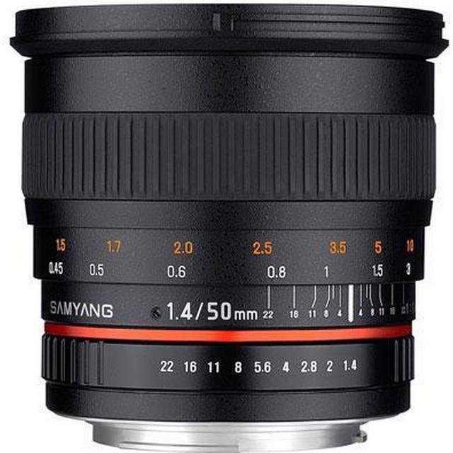 Samyang 50mm f1.4 AS UMC for Canon EF