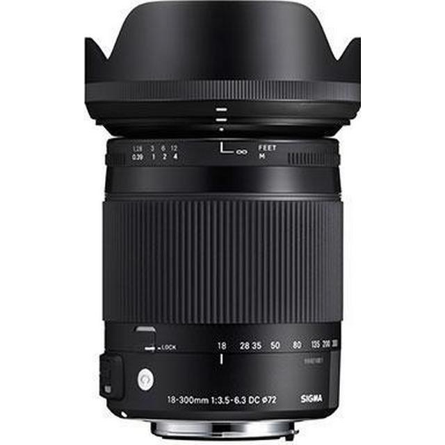 Sigma 18-300mm F3.5-6.3 DC Macro OS HSM