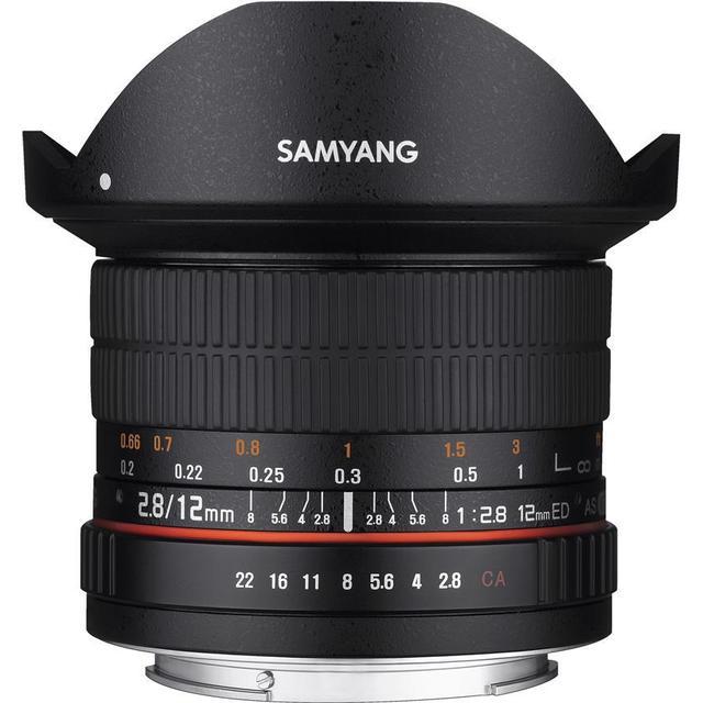 Samyang 12mm F2.8 ED AS NCS Fisheye for Pentax K