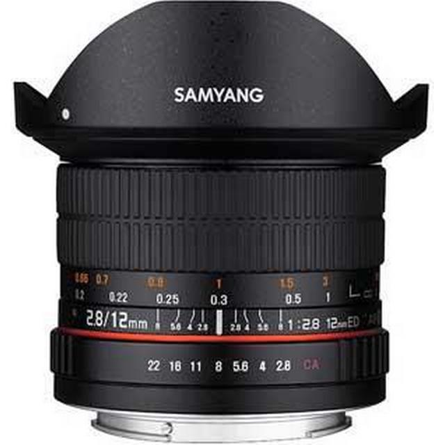 Samyang 12mm F2.8 ED AS NCS Fisheye for Canon EF