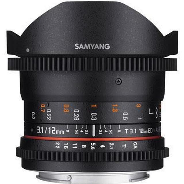 Samyang 12mm T3.1 VDSLR ED AS NCS Fisheye for Canon