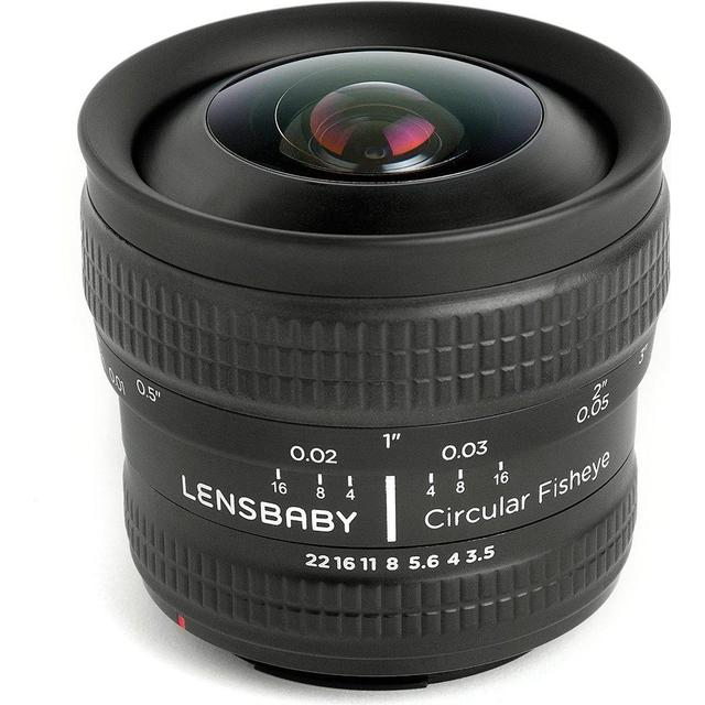 Lensbaby Circular Fisheye 5.8mm f/3.5 for Canon EF