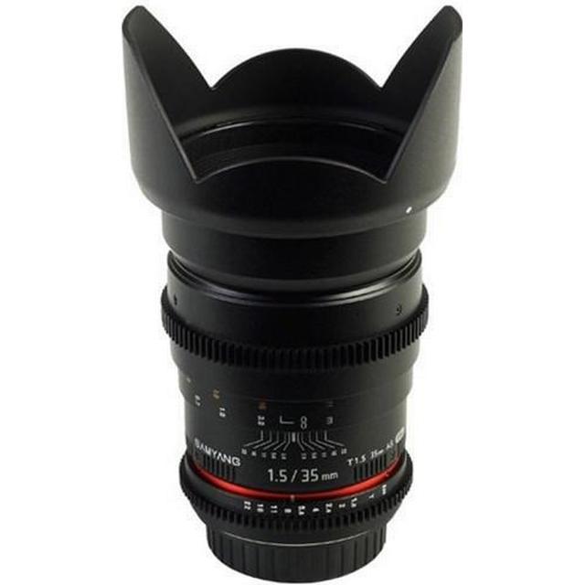 Samyang 35mm T1.5 VDSLR AS UMC II for Sony E
