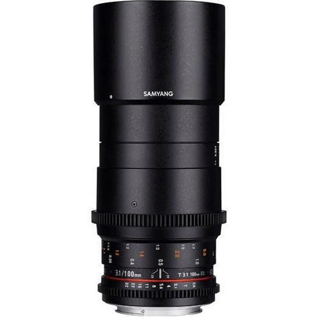 Samyang 100mm T3.1 VDSLR ED UMC Macro for Canon EF